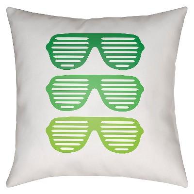 Decorative Pillow Trio : Sunglasses Trio Throw Pillow - Surya : Target