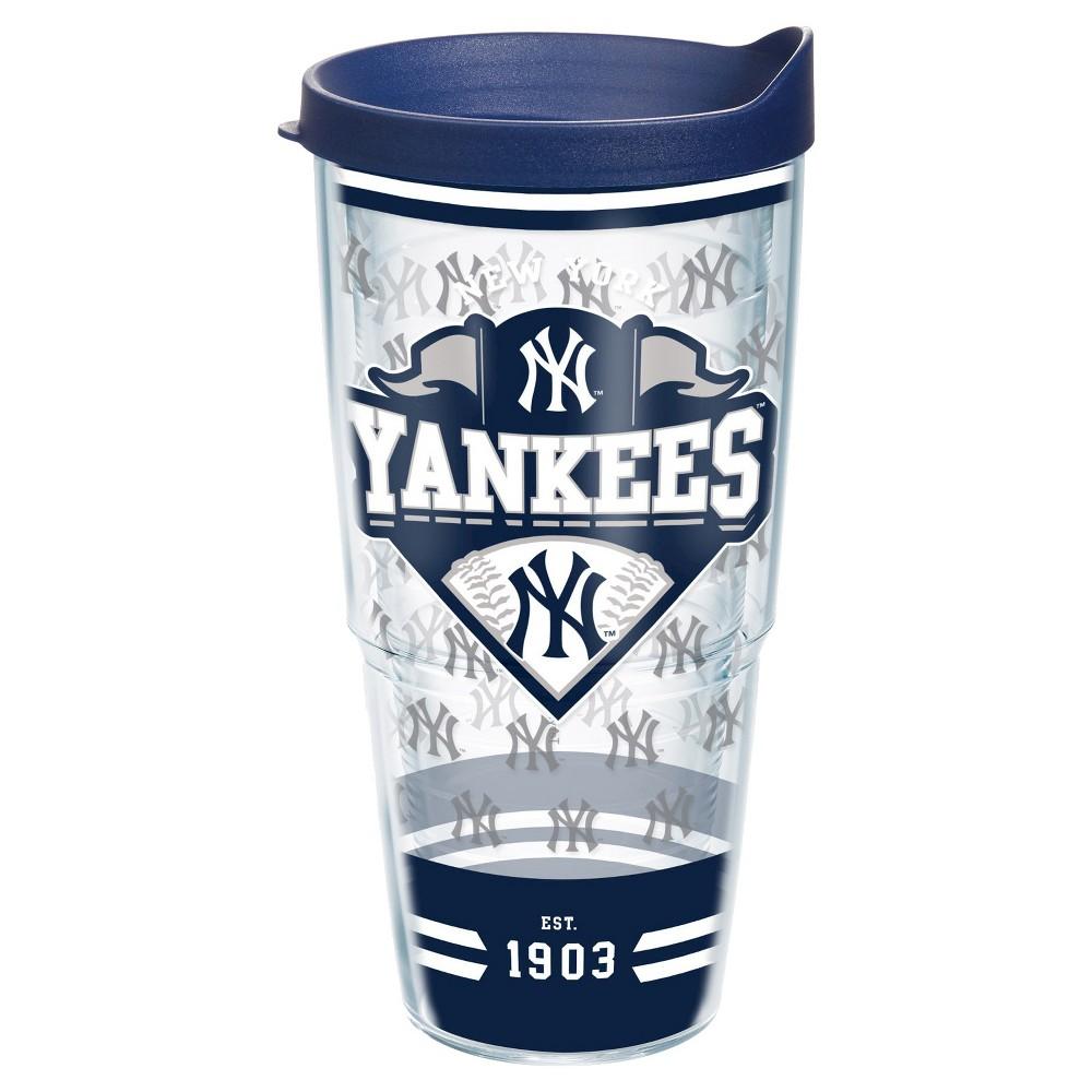 Tervis MLB NY Yankees Classic Tumbler (24 oz), Clear