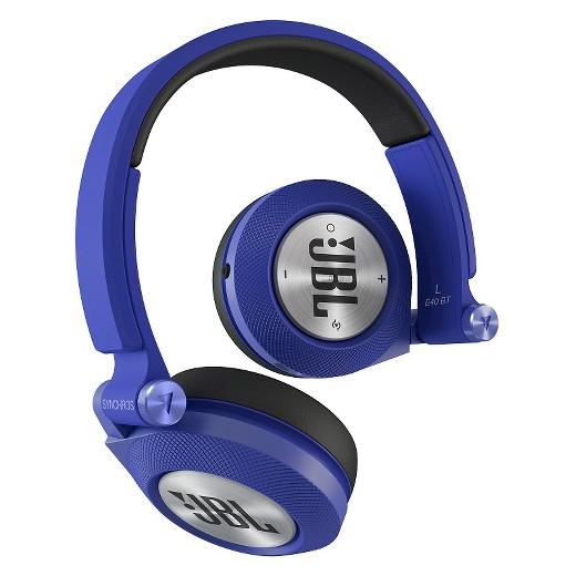 jbl bluetooth over the ear headphones blue target. Black Bedroom Furniture Sets. Home Design Ideas