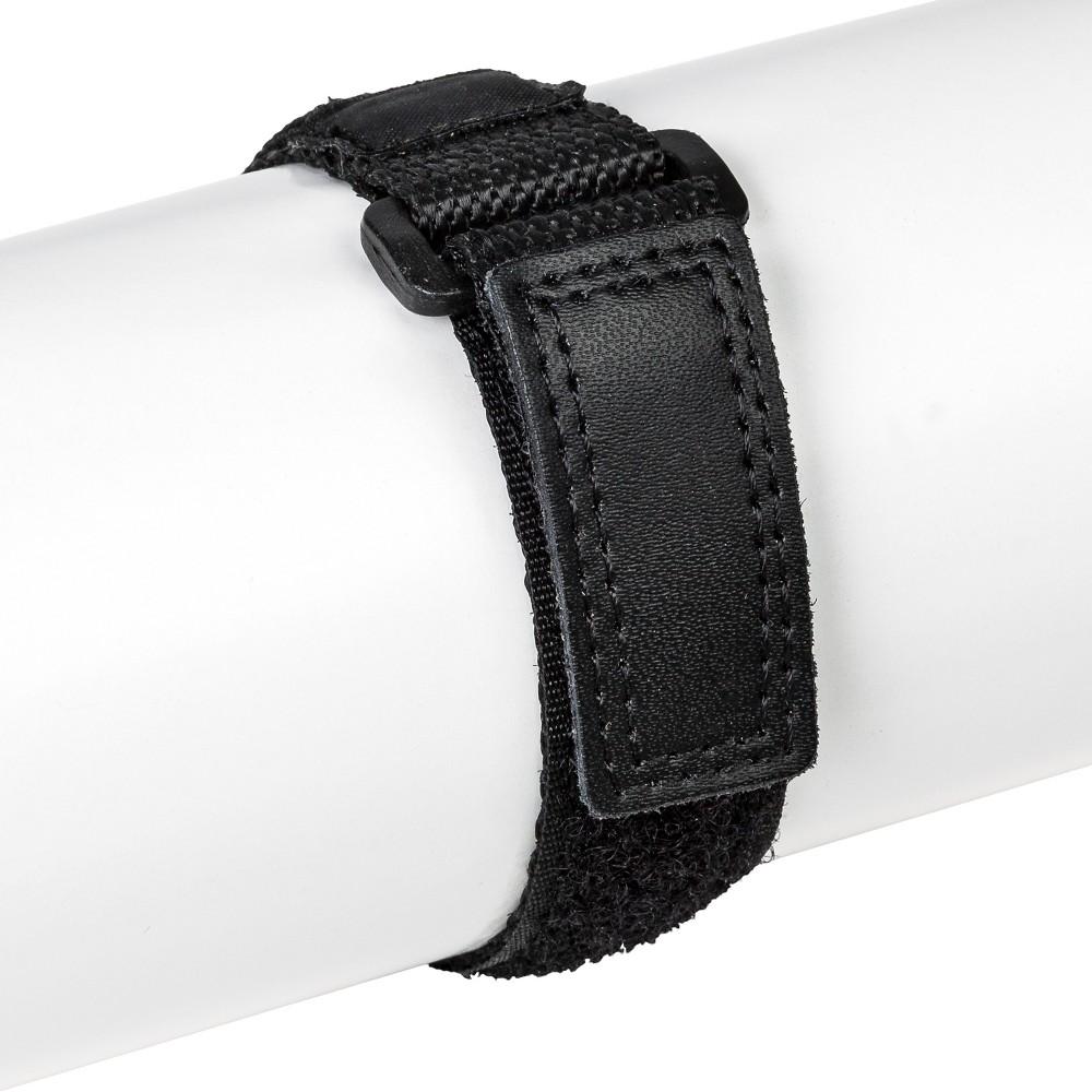 Speidel Nylon Wrap Replacement Watchband Fits 12-16 MM - Black, Adult Unisex