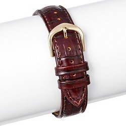 Speidel® Leather Replacement Watchband 12MM - Brown