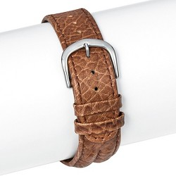 Speidel® Leather Replacement Watchband 18MM - Brown