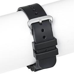 Speidel® Rubber Replacement Watch Strap 22MM - Black