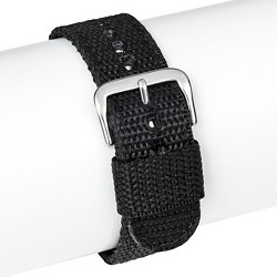 Speidel® Silicone Replacement Watch Strap 20MM - Black