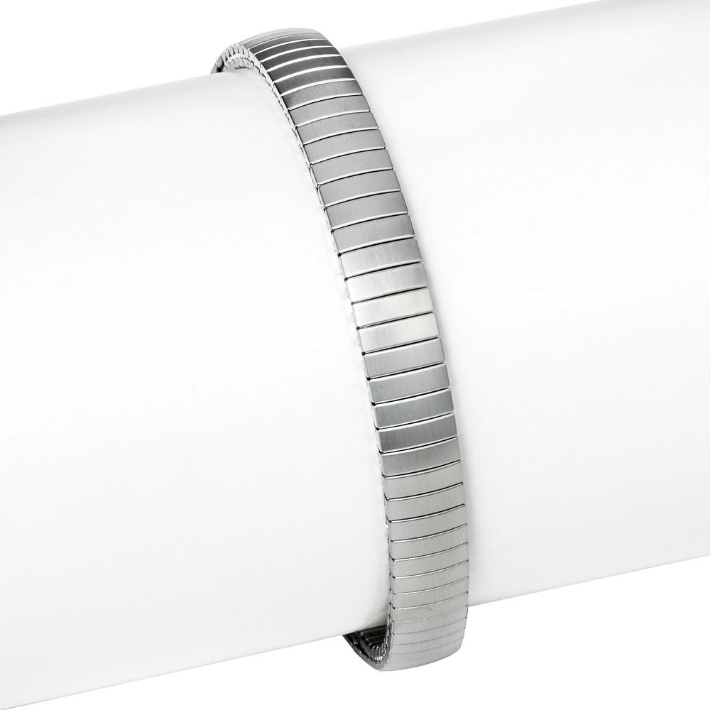 Speidel Twist-O-Flex Stainless Steel Replacement Watchband 11-13MM, Adult Unisex, Silver