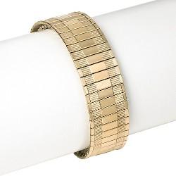 Speidel® Twist-O-Flex Yellow Tone Replacement Watchband 18-22MM