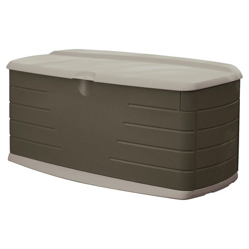 Large Deck Box with Seat - Rubbermaid® - image 1 of 1