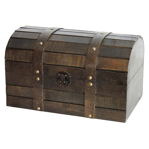 Old Style Barn Wood Trunk - Quickway Imports - image 1 of 1
