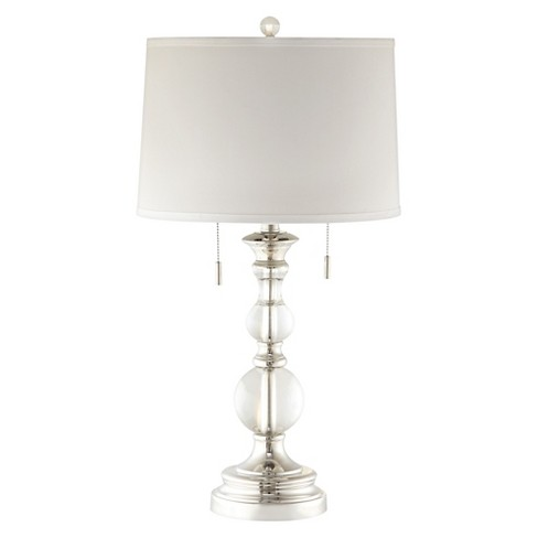 Clarissa crystal globe table lamp