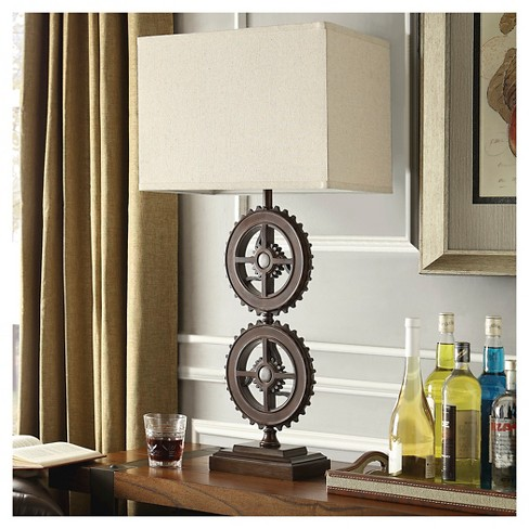 Beckman industrial gear accent table lamp target