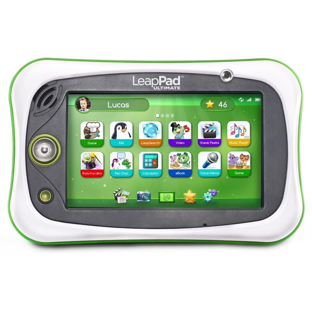 LeapFrog LeapPad Ultimate Kids Learning Tablet, Green