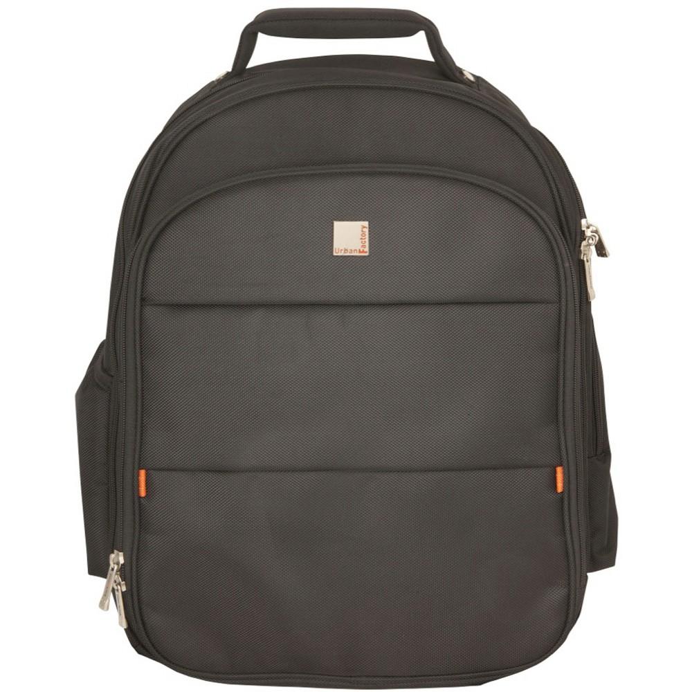 Urban Factory Peace and Love Vintage Collection Laptop Bag - Black (VQ9955) plus size,  plus size fashion plus size appare