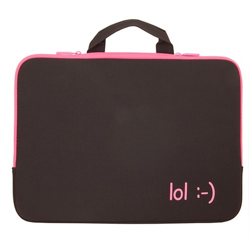 "Urban Factory 15.6"" Notebook Sleeve - Black/Pink (ZM5563) - image 1 of 1"