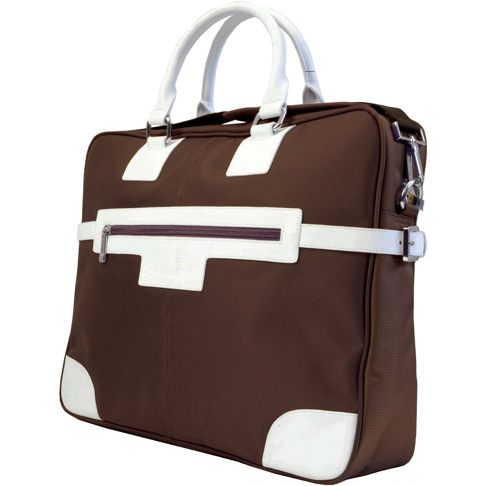 Urban Factory Vicky's Women's Bag for 15.6 Notebooks - Brown/White (VQ9959)