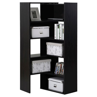 Homestar 9-Shelf Flexible, Sliding or Corner Shelving Unit - Espresso