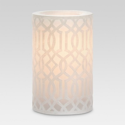Irongate LED Pillar Candle Cream 3 x5  - Threshold™