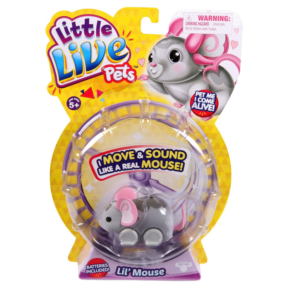 Little Live Pets Lil Mouse Single Pack - Smooch