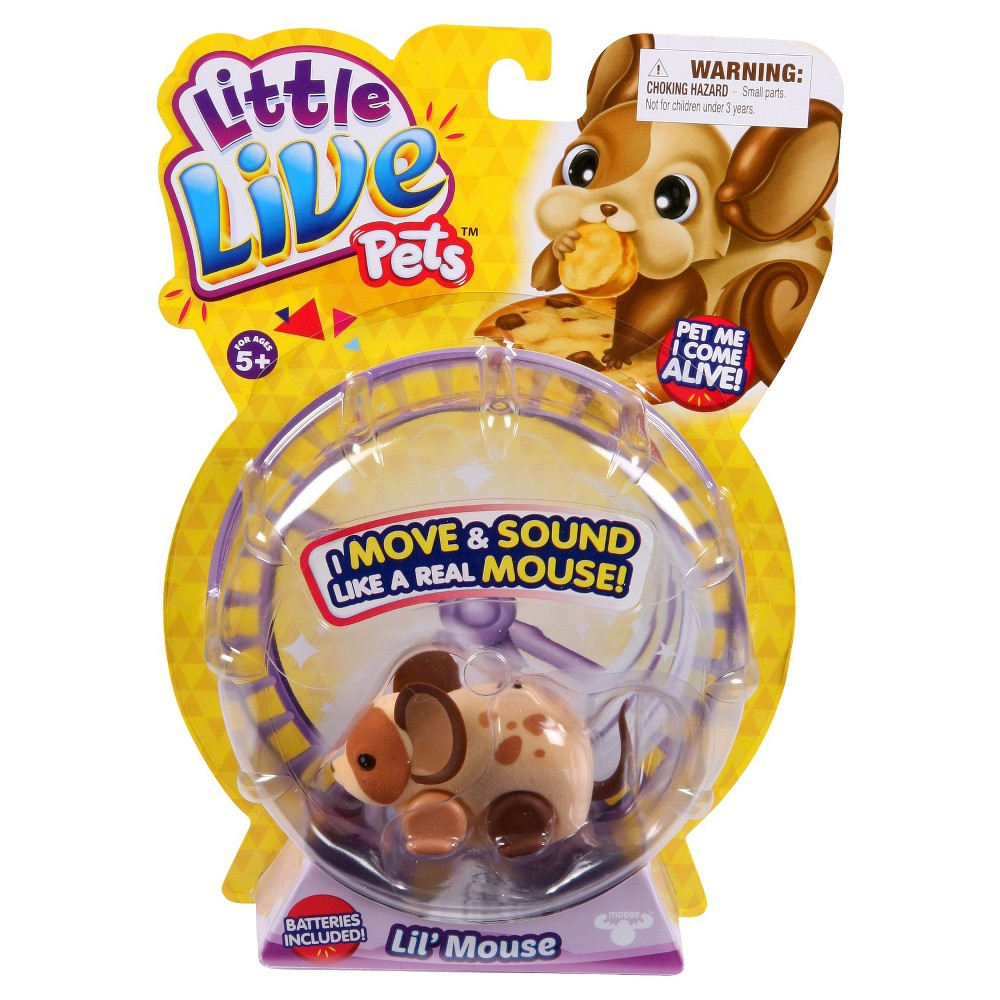 Little Live Pets Lil Mouse Single Pack - Crumbs