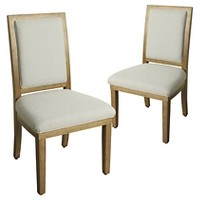 2-Pk. Morris Square Back Arm Dining Chair