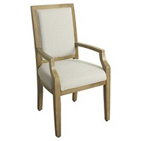 Morris Square Back Arm Dining Chair Wood