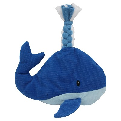 Whale Dog Toy - Blue - Boots & Barkley™