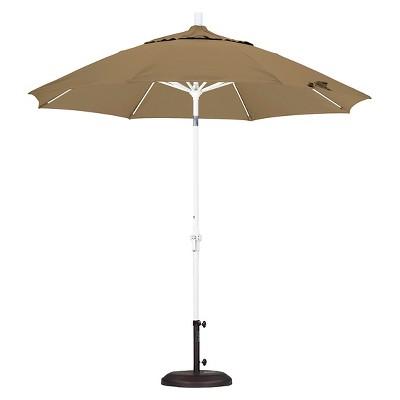 9u0027 Aluminum Collar Tilt Patio Umbrella   California Umbrella