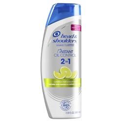 Head & Shoulders® Instant Oil Control 2-in-1 Shampoo & Conditioner - 12.8oz