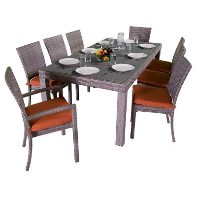 RST Brands Cannes 9 Piece Dining Set