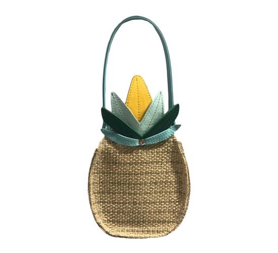 Genuine Kids® from OshKosh Toddler Girls' Pineapple Purse - Natural