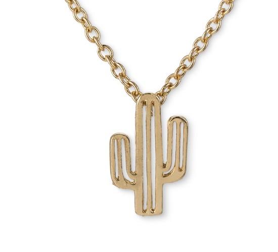 Get Gem by Gemelli Cactus Necklace - Gold