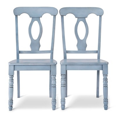 Napoleon Dining Chair - Blue (Set of 2)