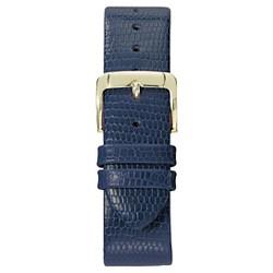 Speidel® Lizard Grain Replacement Watchband Fits 18mm - Blue