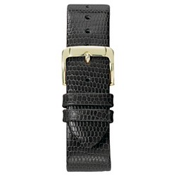 Speidel® Lizard Grain Replacement Watchband Fits 20mm - Black