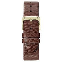 Speidel® Lizard Grain Replacement Watchband Fits 20mm - Brown