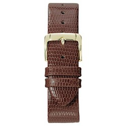 Speidel® Lizard Grain Replacement Watchband Fits 18mm - Brown