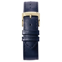 Speidel® Stitched Calfskin Replacement Watchband Fits 12mm - Blue