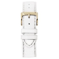 Speidel® Stitched Calfskin Replacement Watchband Fits 16mm - White