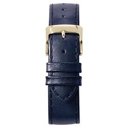 Speidel® Stitched Calfskin Replacement Watchband Fits 14mm - Navy