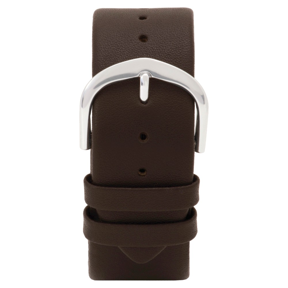 Speidel Express Leather Replacement Watchband Fits 22mm - Brown, Adult Unisex