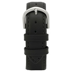 Speidel® Express Padded Calfskin Replacement Watchband Fits 20mm - Black