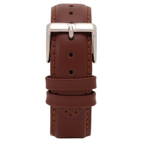 Speidel® Express Leather Replacement Watchband Fits 19mm - Brown - image 1 of 1
