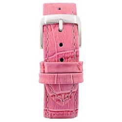 Speidel® Leather with Alligator Pattern Replacement Watchband Fits 18mm - Pink