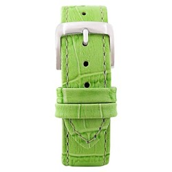 Speidel® Leather with Alligator Pattern Replacement Watchband Fits 16mm - Green