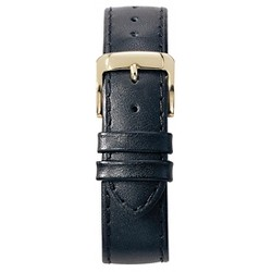 Speidel® Leather Replacement Watchband Fits 20mm - Black