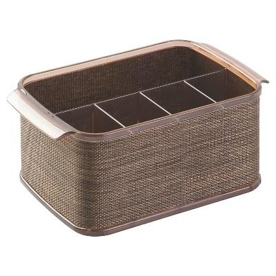 InterDesign Twillo Flatware Caddy - Bronze/Sand (10 )