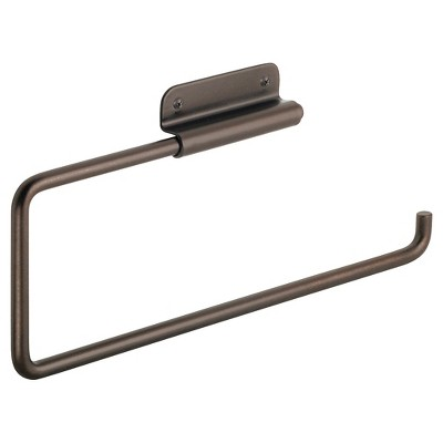 InterDesign Swivel Wall Mount Steel Paper Towel Holder - Bronze