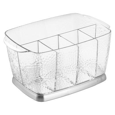 InterDesign Rain Flatware Caddy - Clear (9 )