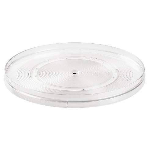 InterDesign Linus Lazy Susan Turntable - Clear (Large) - image 1 of 3