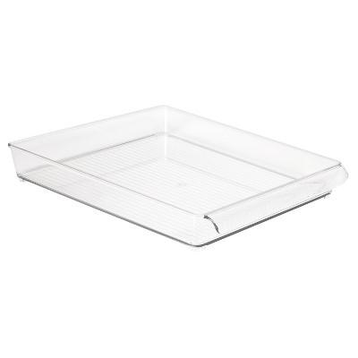 InterDesign Fridge and Freezer Storage Tray - Clear (Large)