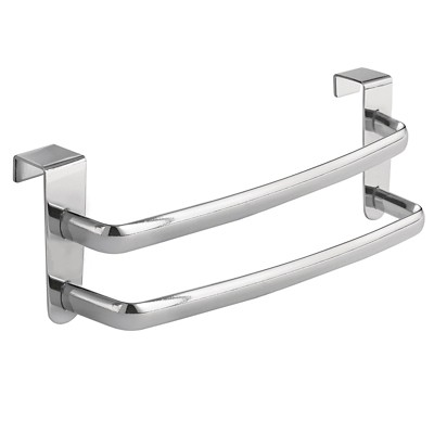 InterDesign Axis Over-the-Cabinet Double Towel Bar - Chrome (9 )